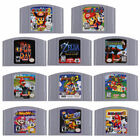 New Video Game Cartridge For Super Mario,Kart Party Smash Bros Nintendo 64 N64