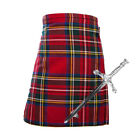Kids 2 Piece Kilt Package with Kilt + Kilt Pin - Royal Stewart - Age 0-12 Years