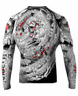 Raven Fightwear Men's Irezumi BJJ MMA Rash Guard