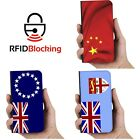 Country Flag Luxury Flip Cover Wallet Card PU Leather Phone Case Stand Galaxy S5