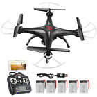 SYMA X5SW RC Quadcopter 2.4G 6-Axis Drone FPV With WIFI Camera 3D Flip LED Light