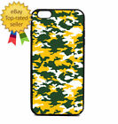 Green Army Camouflage Print Phone Case Galaxy S Note Edge iPhone 5 6 7 8 9 X +