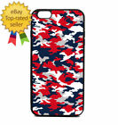Patriotic Army Camo Print Phone Case Galaxy S Note Edge iPhone 5 6 7 8 9 X +