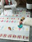 Kids Multi Colored Tribal Inspired Soft Area Rug