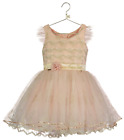 Girls Luxury Official Disney Boutique Tinkerbell Occasion Party Dress 5-10 years