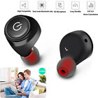 Mini Bluetooth True Wireless Twins Earbuds In-Ear Stereo Earphones Sport Headset