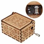 Wooden Music Box Harry Potter / Beauty and the Beast  / Moana  / Birthday Gifts
