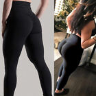 US Sexy Women Butt Lift Yoga Pants Hip Push Up Leggings Exercise Workout Stretch