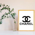 Designer+Brand+Gucci+Chanel+A4+Artwork+Gift+Print+Kids+Nursery+Home+Decor+Poster