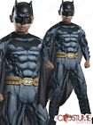 Batman Muscle Chest Boys Costume Child DC Heroes Dress Up Halloween Kids Outfit