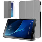 """Leather Smart Stand Case Cover For Samsung Galaxy Tab A6/4 10.1"""" Inch T580/T530"""