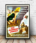 The Garment Jungle : Vintage advert, poster, Wall art, poster, reproduction.