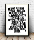Grandmaster Flash The Message Lyrics, Song Words Quote, Poster, Wall Art