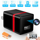 Full HD 1080P Spy Camera Hidden WiFi Wireless USB Wall Charger Security Cam