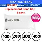 Bean Bag Refill 100/200/300/400Litre Replacement Beans Filler beanbag Chair Bags