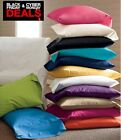 BLACK FRIDAY SALE !!! SOFT & LUXURIOUS  2PC PILLOWCASES 400TC 100% COTTON SOLID image