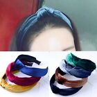 fruity sweet red wines - Women Girl Sweet Bowknot Wide Hairband Headband Solid Fashion Hair Accessories