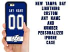 NEW TAMPA BAY LIGHTNING CUSTOM PHONE CASE COVER FOR IPHONE X 4 5 5C 6S 7 8 PLUS $14.94 USD on eBay