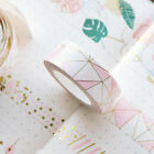 Pink Foil Masking Tape Sticker DIY Self Adhesive Glitter Washi Craft Decor New on eBay