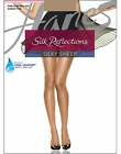 Hanes Pantyhose Silk Reflections Non-Control Top Sandalfoot  4-Pack Sheer Womens