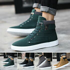 Fashion Mens's High Top Trainers Boots Sneakers Casual Lace up Combat Shoes Size