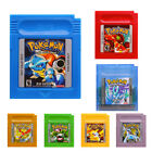 multi games - Pokemon Gameboy  Multi-Color GBC Game Cards US Version Reproduction