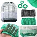 US Seed Catcher Guard Mesh Pet  Bird Cage Cover Shell Skirt Traps Cage Basket