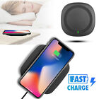 Qi Fast Wireless Charger Charging Pad for Samsung Galaxy S9/S8/Note 8 iPhone X