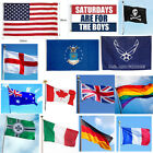 3ft x 5ft Large National Country Flag Polyester Banner Decor
