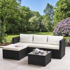 Rattan Corner Sofa Set Garden Furniture