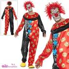 Deluxe Day Of The Dead Circus Clown Costume Adults Mens Halloween Fancy Dress