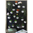 Simulated Succulent Plant Fridge Magnet Sticker Mini Potted Plant Home Wall Deco