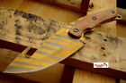 "NEW 9.5"" CSGO Hunting Knife Gut Hook w/ Wood Handle Full Tang Fixed Blade CS:GO"