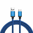 LOT 10FT USB-C Type-C Data Sync Charger Charging Cable Samsung Galaxy Note9/8 S9 <br/> Buy 2 at 10% OFF✔2018 MODEL✔Nylon Braided Cable✔US Ship