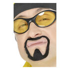Adult Ali G Facial Hair Moustache And Goatee Beard Set Fancy Dress 21717