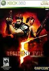 game resident evil 5 - Resident Evil 5 - Used X360, Xbox 360 Game W Original Box And Instruction