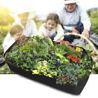 Fabric Raised Home Garden Bed Baskets Planting Pots Lawn Care Boxes Big Bag US