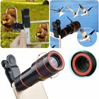 12x HD Optical Zoom Clip on Camera Telescope Lens Phone For Universal Cell phone