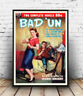 Bad un : Vintage pulp book cover, poster, Wall art, poster, reproduction.