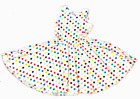 Внешний вид - NEW Dot Dot Smile SLEEVELESS Twirly Dress Knit Girl Kids Polka dot TANK