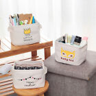 Cartoon Storage Bin Closet Toy Box Jewelry Container Organizer Fabric Basket XCI