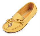 Manitobah Canoe Moccassin Womens Slip On Shoe