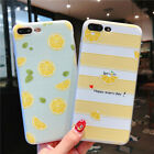 For iPhone X 8 6s 7 Plus 3D Cute Rubber Soft Silicone TPU Sh