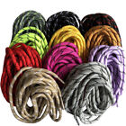 Round Shoelaces Two Colors Martin Boots Laces Sport Shoes 47 Inch - 71 Inch