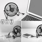 8 USB Solar Panel Powered Iron Fan 5W Panel Outdoor Home Cooling Ventilation