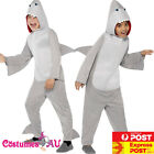Kids Shark Costume Animal Mascot Fancy Dress Party Book Week Jaws Child Bodysuit