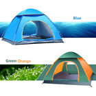 festival pop up tent - 3 - 4 Person Man Tent Family Camping Hiking Holiday Pop Up Festival Fast Pitch