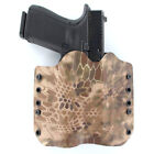 OWB Kydex Holster for 50+ Hanguns with STREAMLIGHT TLR-4 - KRYPTEK HIGHLANDER