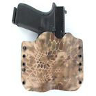 OWB Kydex Holster for 50+ Hanguns with INFORCE APL - KRYPTEK HIGHLANDER