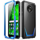 For Motorola Moto G6 POETIC Guardian Rugged Shockproof TPU Case Cover 4 Color